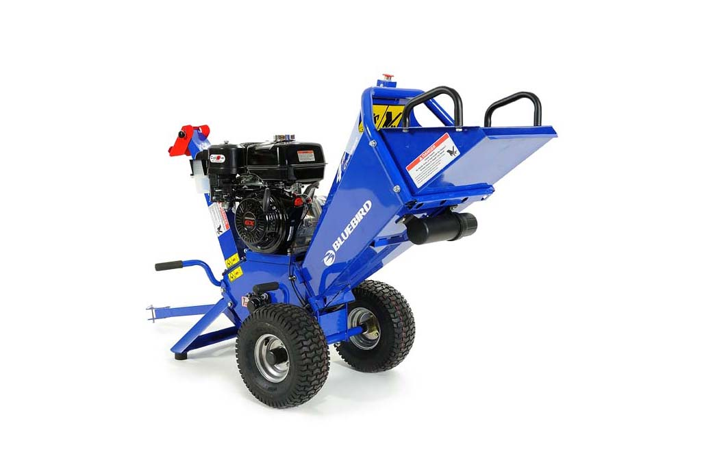 Wood Chipper | Buy | Rent | Sale | 13 hp BlueBird Wood Chipper Patented  Twin Blade Drum System Honda Engine GX390 CH400H | Wood Chipper Engine Diagram |  | BlueBird Turf