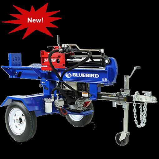 Log Splitter For Sale >> Log Splitter Buy Rent Sale 34 Ton Bluebird Log Splitter