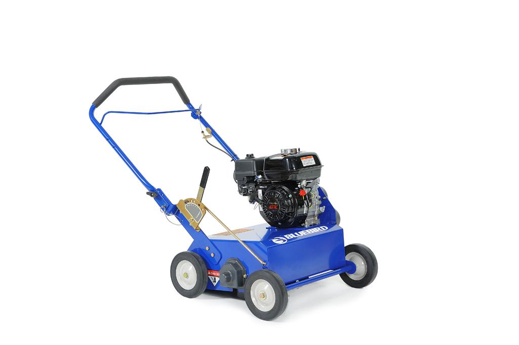 Power Rake | Buy | Rent | Sale | 18 in. BlueBird Power Rake Briggs ...